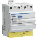 Interrupteur différentiel 3P+N 40A 30mA  - HAGER : CDC840F