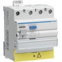 Interrupteur différentiel 3P+N 63A 30mA  - HAGER : CDC863F