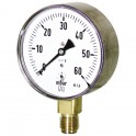 Manomètre gaz radial sec d'inspecteur de 0 à 60mb