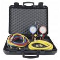 Manifold 4V   flexibles AP R22 R32 R407C R410A - GALAXAIR : M804-SA660-B-CN