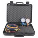 Manifold 2V + flexibles AP R22 R32 R407C R410A - GALAXAIR : M802-SA-560-B-CN