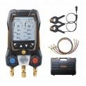 Kit standard testo 550s avec flexibles - kit manomètre froid 2 voies - TESTO : 05645504