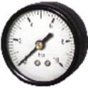 Manomètre prise axiale 0 à 6b Ø50mm