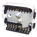 Accessoire VMC - Bouche THERMOGAZ 45/105 m3/h CC 125/118 - ANJOS : 2703