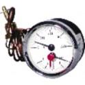 Thermomanomètre 0 à 120°C - 0 à 6b