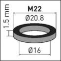 Joint d'aérateur M22 (X 10) - NEOPERL AG : 78136096