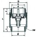 """Outillage froid - Manchon à souder F3/4"""" (6 pièces)"""