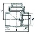 Clip  fermeture 2g + 2d - GEMINOX : 7099834