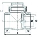 Poignée diamètre 40mm - SIME : 6230921