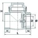 Joint plat (3 pièces) - DIFF pour Chappée : SX5207810