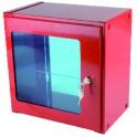 Coffret sous verre dormant 600mm x 600mm x 300mm
