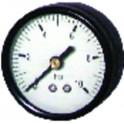 Manomètre axial sec 0 à 6b Ø50mm