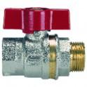 Robinetterie radiateur - Canne chromée lg 1000mm x 16mm - GIACOMINI : R194X004