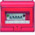 Coffret sécurité VECTOR chaufferie 8+2 mod. équipé  - HAGER : VE109B
