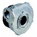 Grille de ventilation naturelle  - avec grillage anti-moustiques aluminium brut - ANJOS : 6815