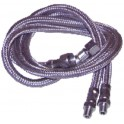 Flexible fioul M3/8 conique x M1/4  (X 2)