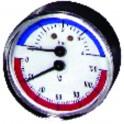 Thermomanomètre axial sec 0 à 120°C - 0 à 4b