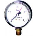 Manomètre radial sec 0-4b Ø80mm