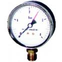 Manomètre radial sec 0-4b Ø100mm