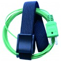 "Sonde de contact avec ""Velcro"" thermocouple type K -50°C +145°C - GALAXAIR : K-VEL"