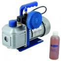 Pompe à vide 2 étages R32 71l/min 15µ électrovanne - GALAXAIR : 2VP-71-EV-R32