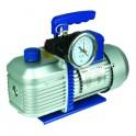 Pompe à vide 2 étages R32 198l/min 25µ électrovanne - GALAXAIR : 2-VP-198-EV-R32
