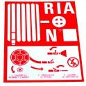 Étiquette rigide RIA