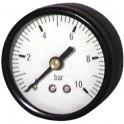Manomètre axial sec 0 à 10b Ø50mm  - DIFF