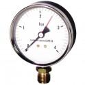 Manomètre radial sec 0-4b Ø80mm  - DIFF