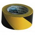 Ruban adhésif marquage jaune/noir - DIFF