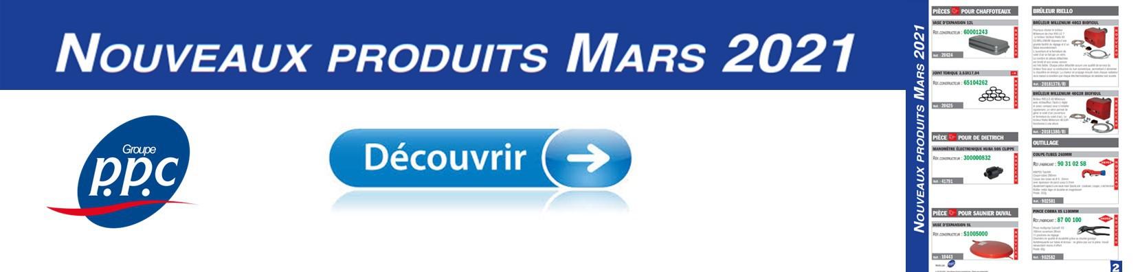 NOUVEAUTE MARS 2021